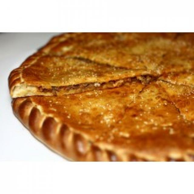 Доставка - Закрытая пицца с курицей и салями